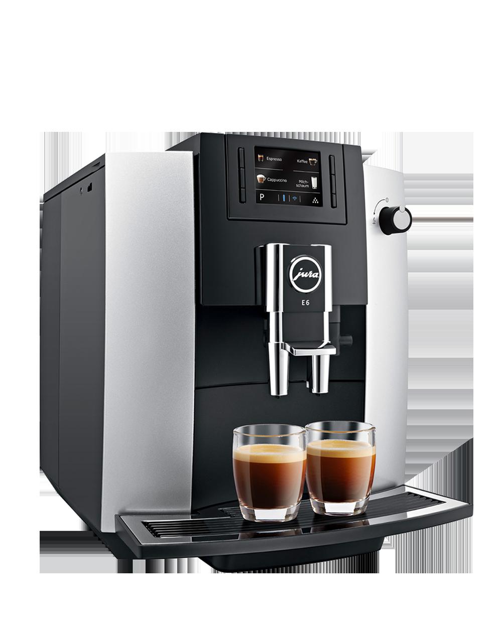 Le percolateur avec ces types de café et la recette de cappuccino fait maison
