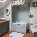 Accessoires de salle de bain: variété et caractéristiques de choix