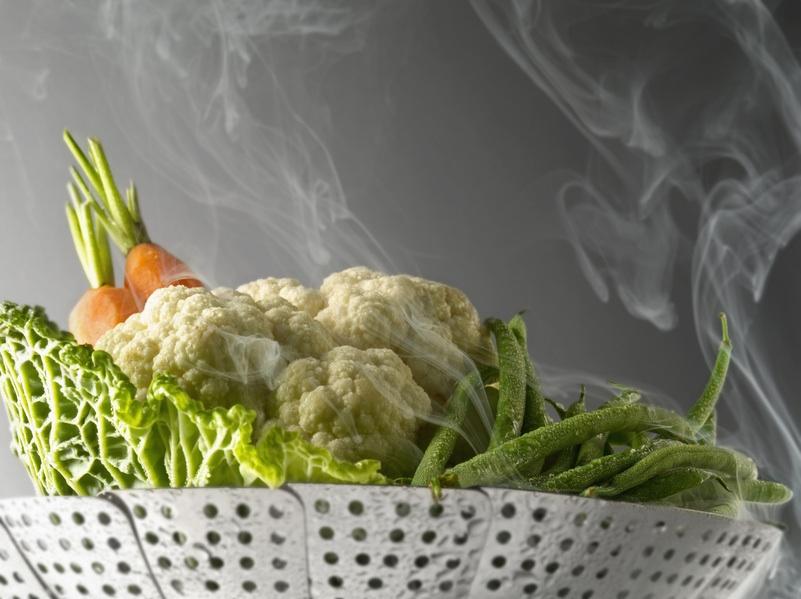cuisson a la vapeur