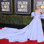 robe bleu princesse Lady Gaga