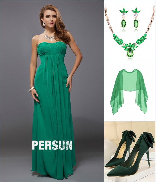 le look tout en vert