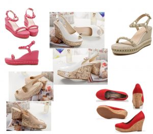 Chaussures compensées pour plus de prestance et d'élégance