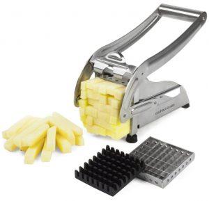 En savoir plus sur les types de coupe-frites disponibles sur le marché