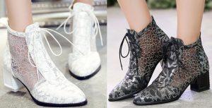 Bottines à la mode en Hiver 2019