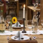 Les bougies pour affiner la décoration de la salle à manger