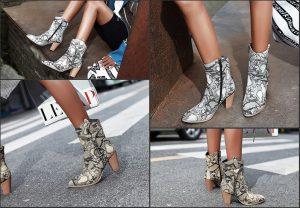 Types de chaussures pour femmes en hiver
