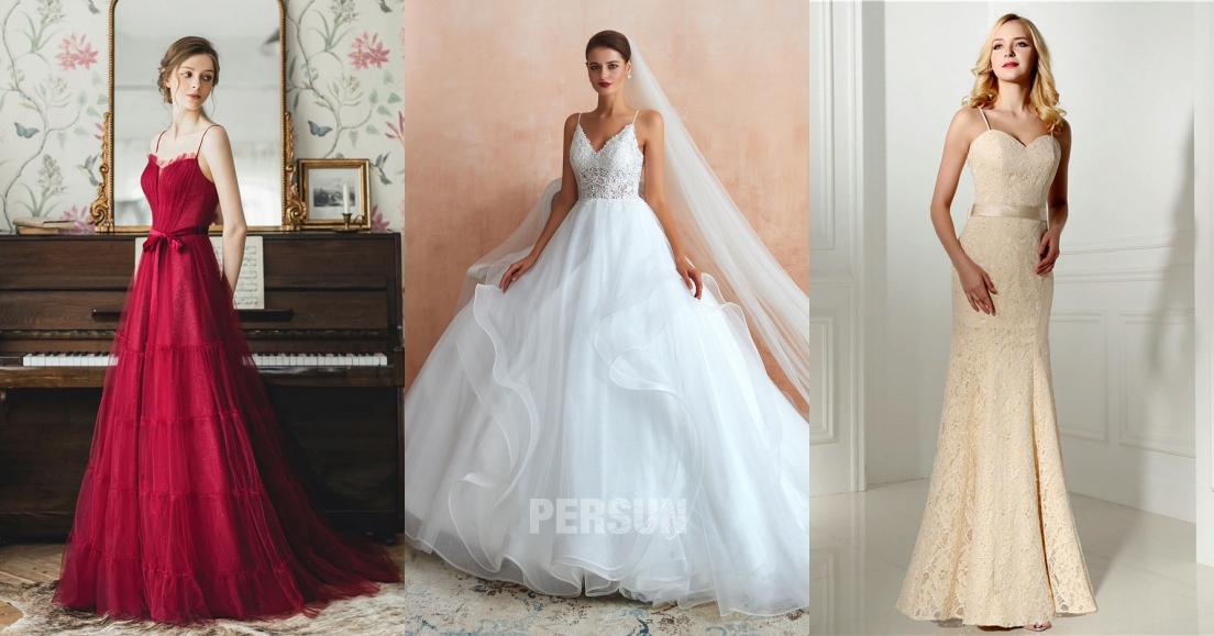 robe de mariée chic 2020 de persun