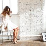 Robe de mariée à manches en dentellr : La beauté dans la modestie
