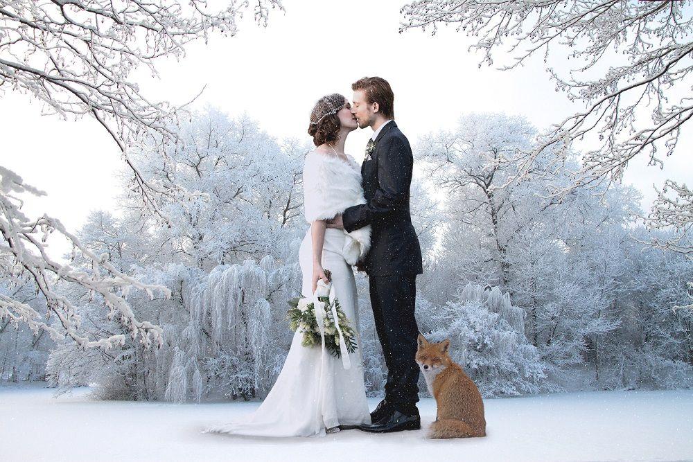 lieu de mariage en hiver