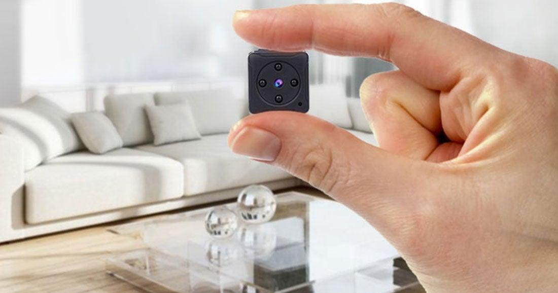 Une caméra de surveillance, les caméras espion discrètes : leurs avantages