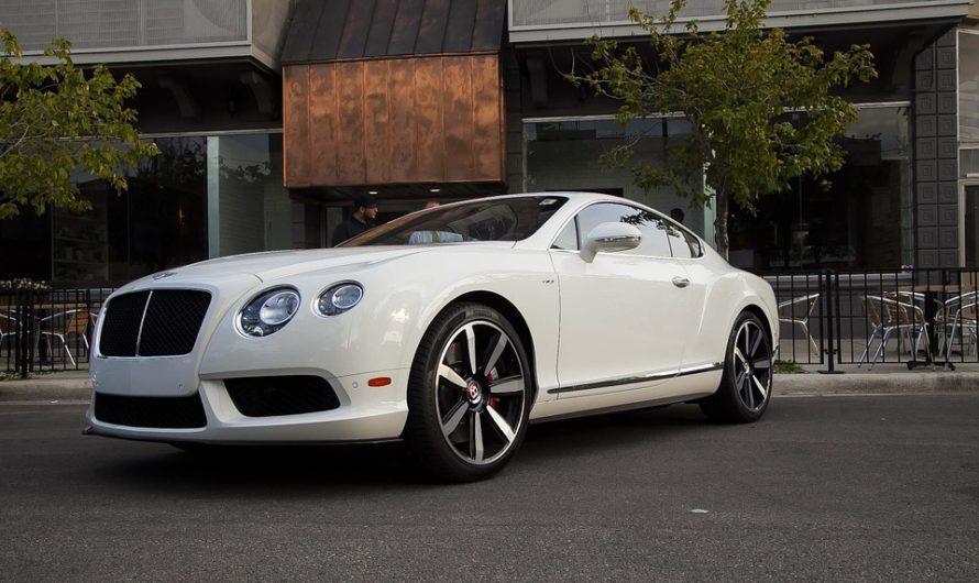 Louez une Bentley pour vos évènements